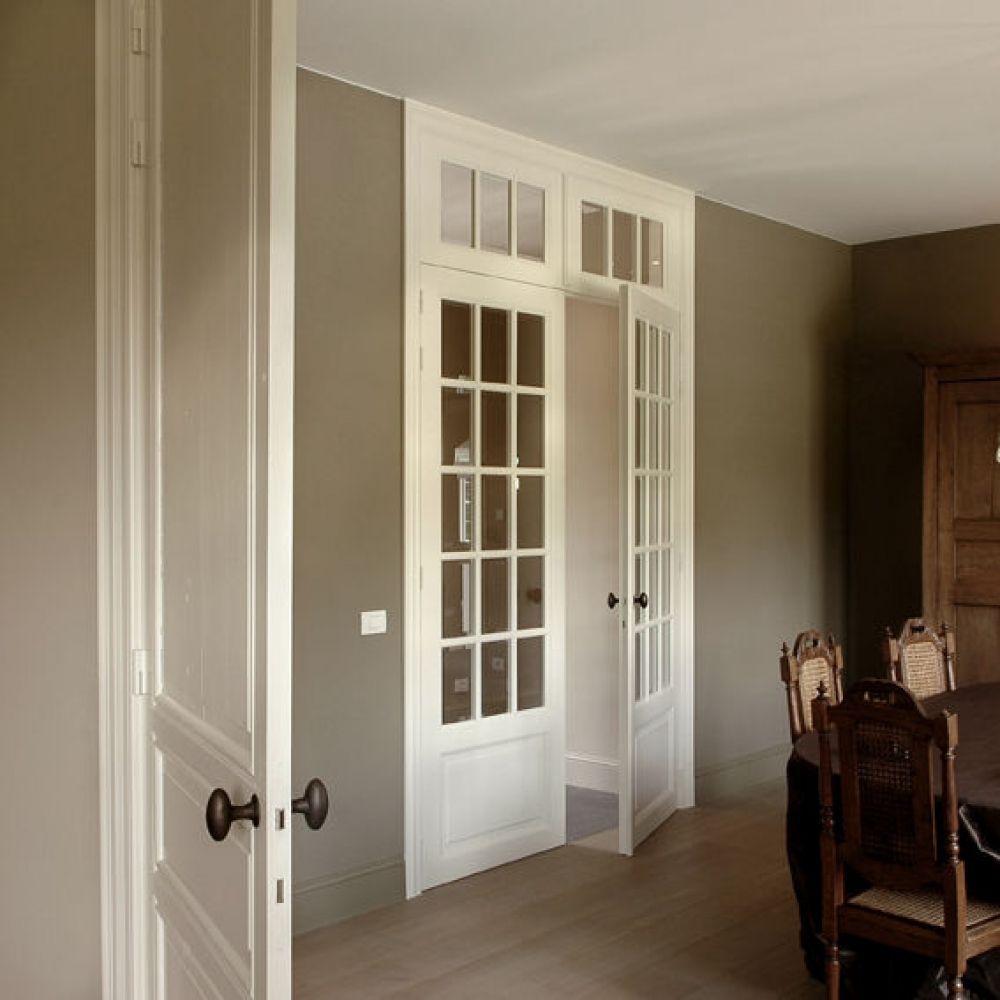 Menuiseries for Joint de porte interieur maison