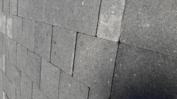 Pavés Noir Basalt - 4m²+1 gratuit