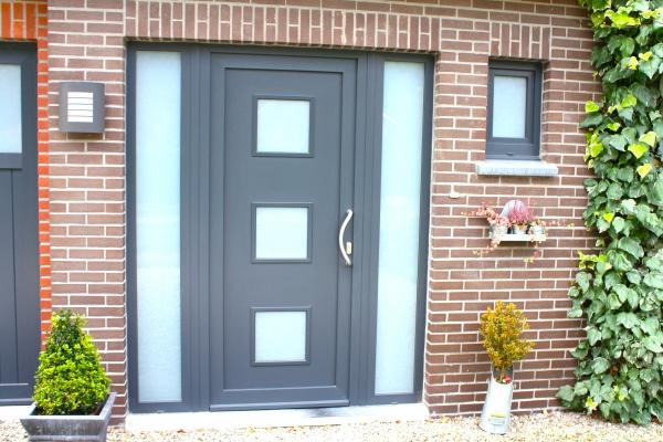 Porte en PVC style moderne