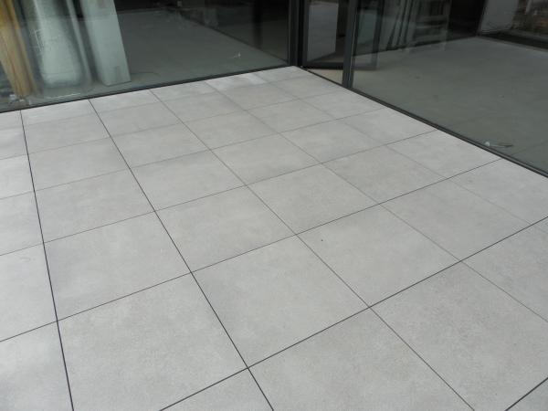 Concrete Grey Rectifié 60/60 sur plot