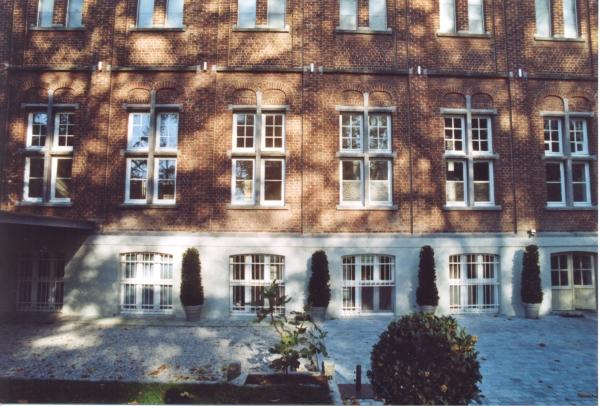 Châssis Bois blanc rénovation ancien couvent