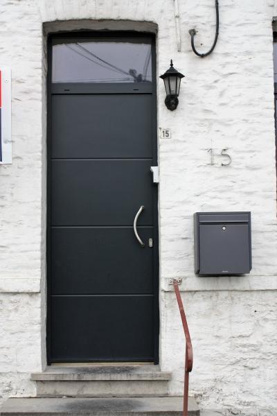 Porte PVC Plano anthracite
