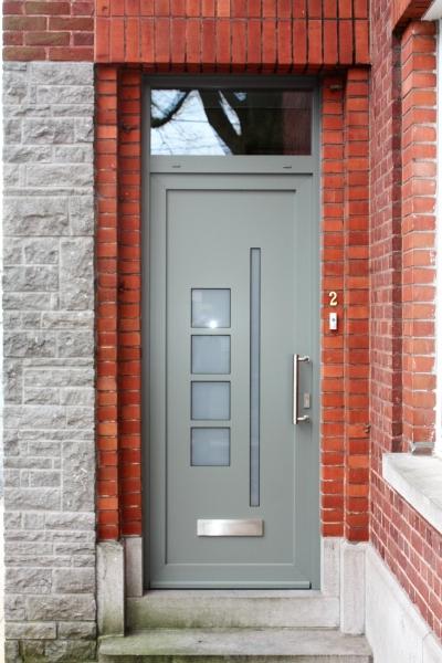 Porte PVC design sur mesure