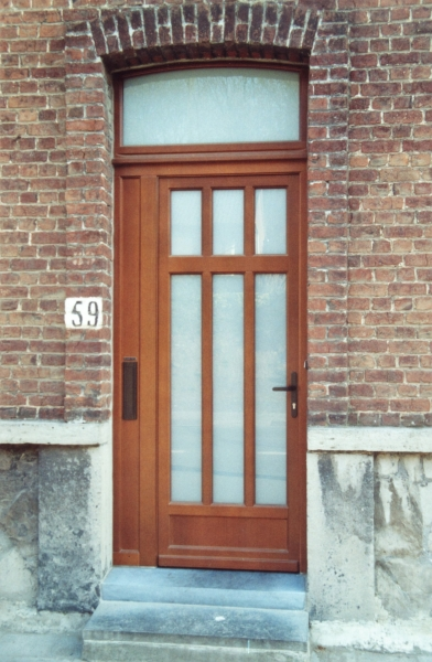 Porte bois design sur mesure