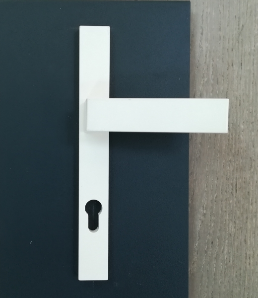Poignée de porte Alu laqué Kena