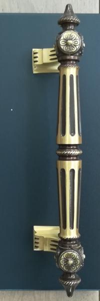 Poignée de porte en laiton Bronze Victoria