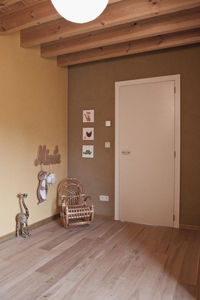 Porte intérieure laquée blanc