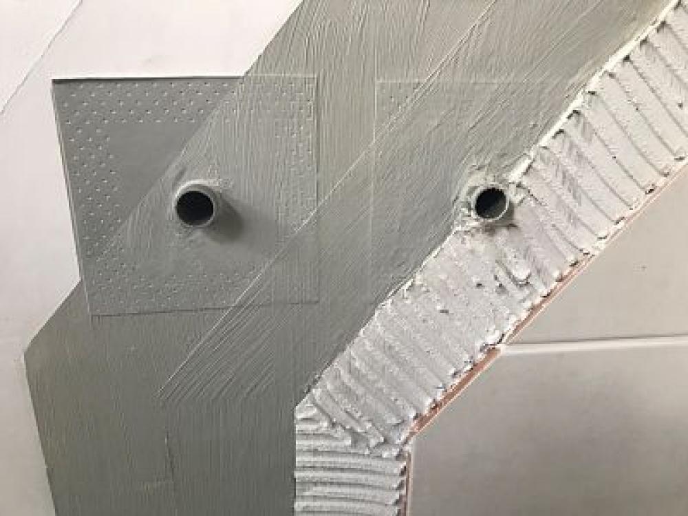 Mapeband PE 120 - jonction tuyau 12 x 12cm