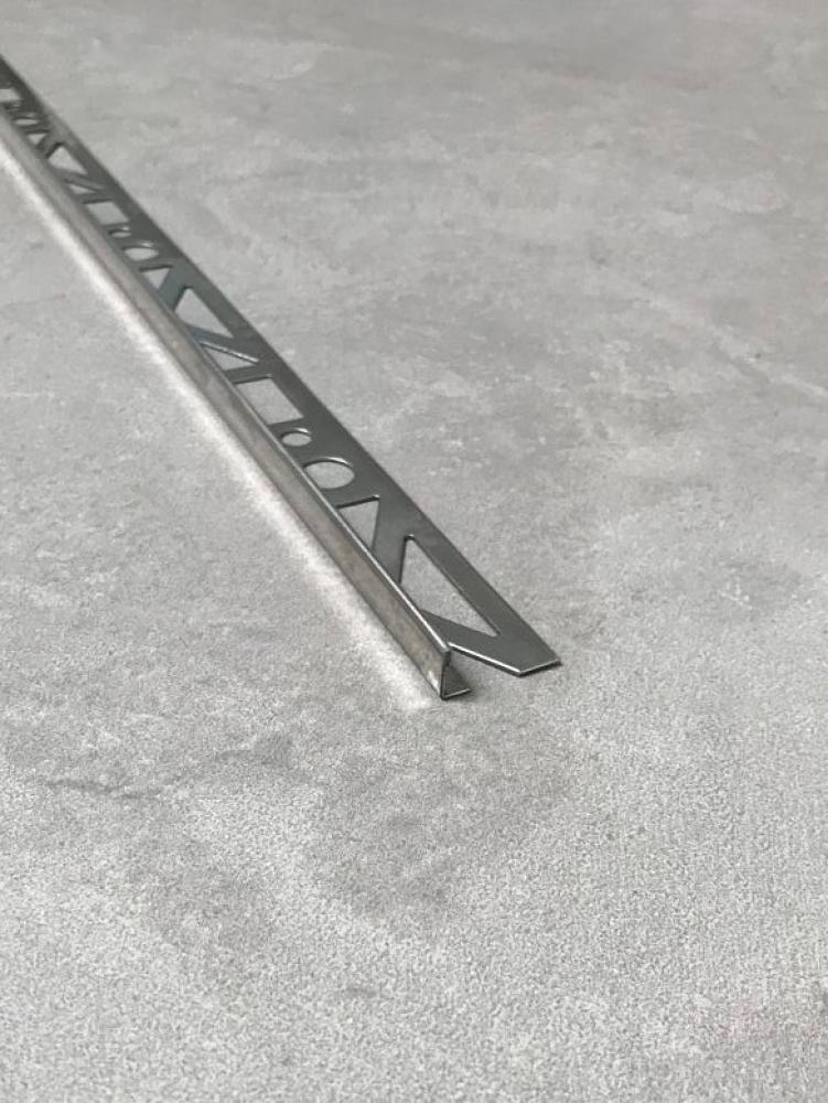 Profilé Profloor INOX 10mm - en longueur de 2m50