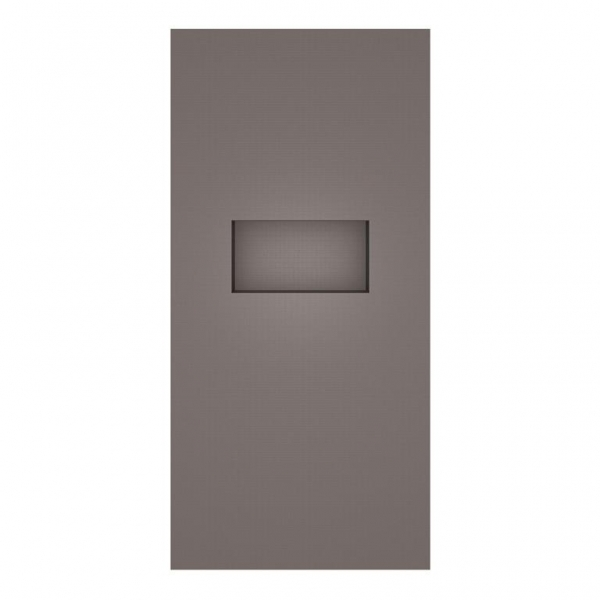 Cloison Wedi Sanwell XL 0,90x2,50m x 100mm d'épaisseur avec niche