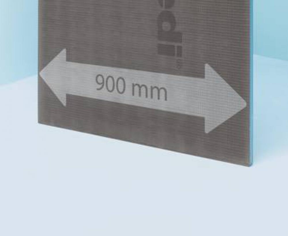 Panneau de construction WEDI XL 2,50x0,90m x 12,5mm d'épaisseur