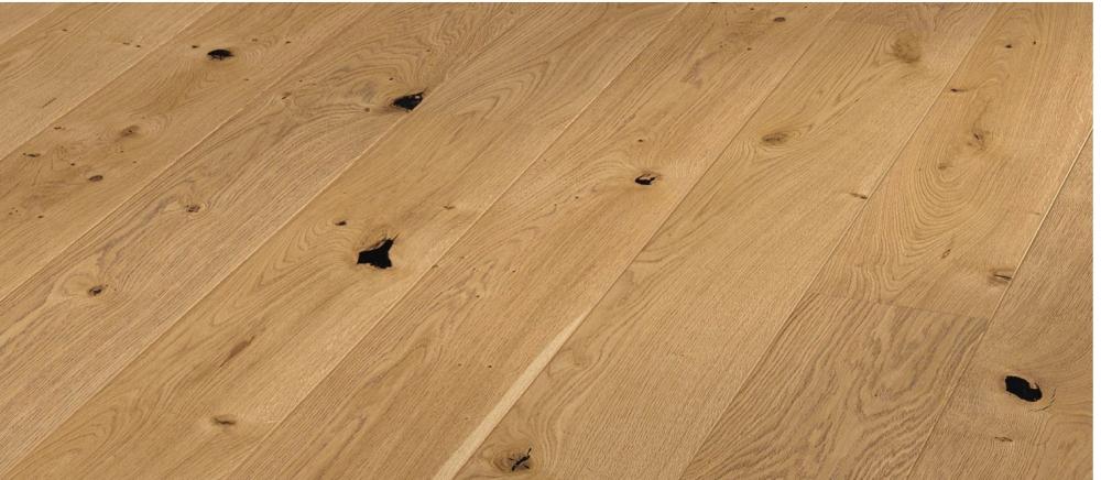 parquet chêne semi-massif verni rustique Naturel 2200x180x12,5/2,5mm. en STOCK!