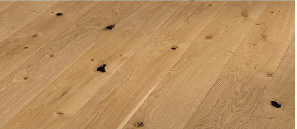 parquet chêne semi-massif verni rustique Naturel 2200x180x12,5/2,5mm